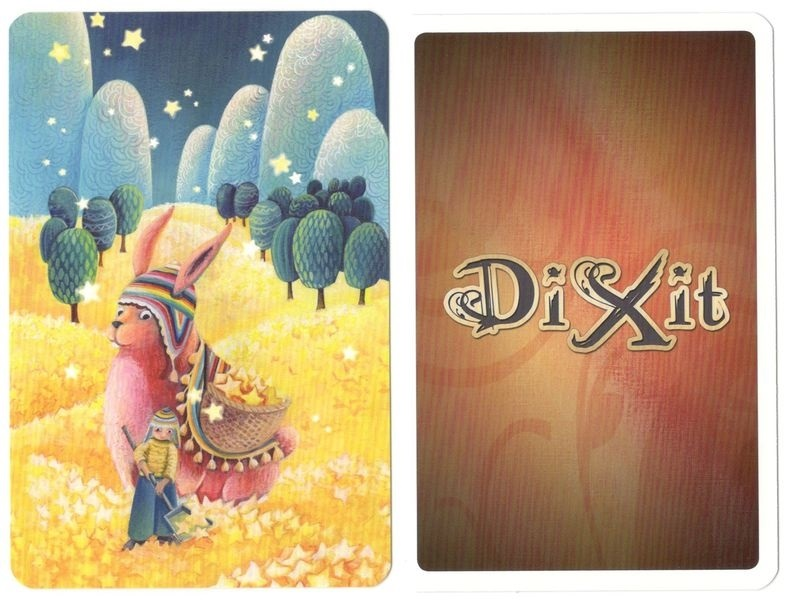 Dixit: Pink Bunny Promo Card - dodatek z kalendarza adwentowego 2018(11)