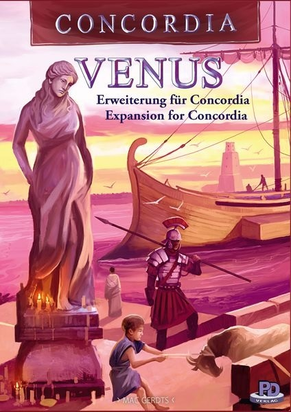 Concordia Venus  Expansion for Concordia
