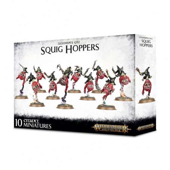 Warhammer Age of Sigmar: Squig Hoppers