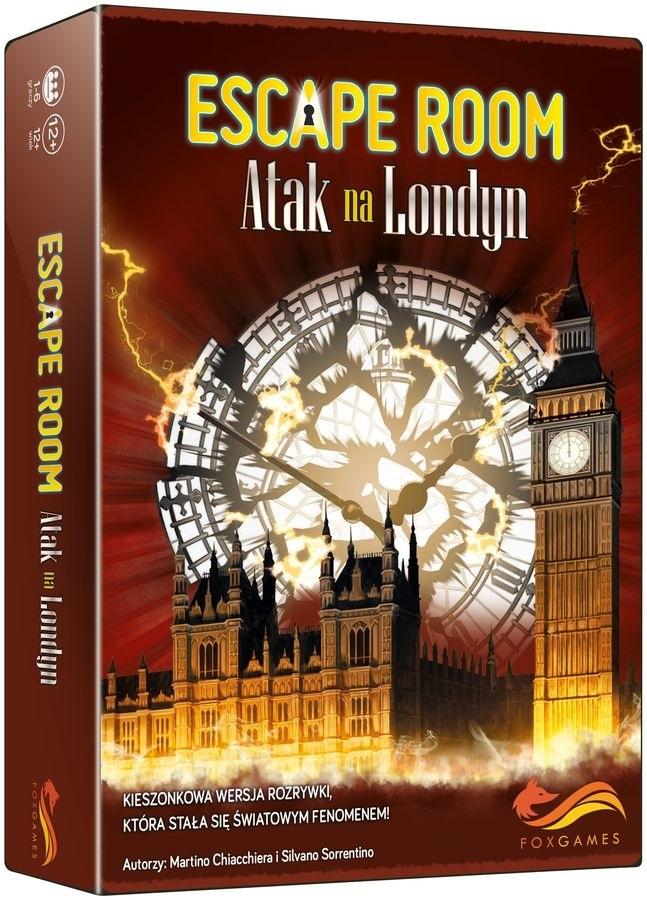 Escape Room. Atak na Londyn