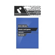 "Koszulki na karty Rebel (63,5x88 mm) ""Classic Card Game"" - 100 sztuk, Niebieskie"