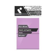 """Koszulki na karty Rebel (63,5x88 mm) \\""""Classic Card Game\\"""" - 100 sztuk, Różowe Rebel Rebel"""