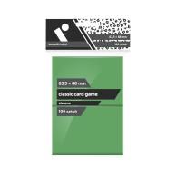 "Koszulki na karty Rebel (63,5x88 mm) \\""Classic Card Game\\"" - 100 sztuk, Zielone Rebel Rebel"