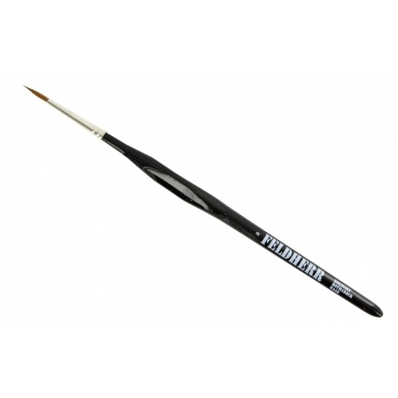 Kolinsky Red Sable Brush Size 3 | Ø 2,7 mm | visible hair length 14 mm Feldherr Feldherr
