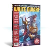 White Dwarf February 2019 Czasopisma o grach Games Workshop