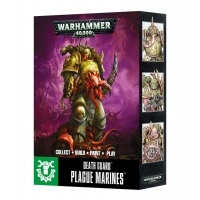 Warhammer 40000: Easy To Build: Death Guard Plague Marines