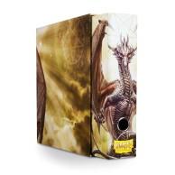 Dragon Shield Slipcase Binder - White art Dragon