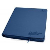 Ultimate Guard 12-Pocket QuadRow ZipFolio XenoSkin Dark Blue