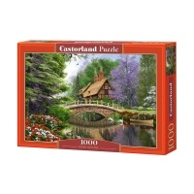 Puzzle 1000 el. Dom nad rzeką Castorland Castorland