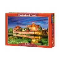Puzzle 1000 el. Malbork - Polska Pejzaże Castorland