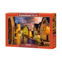 Puzzle 1000 el. Rothenburg nocą