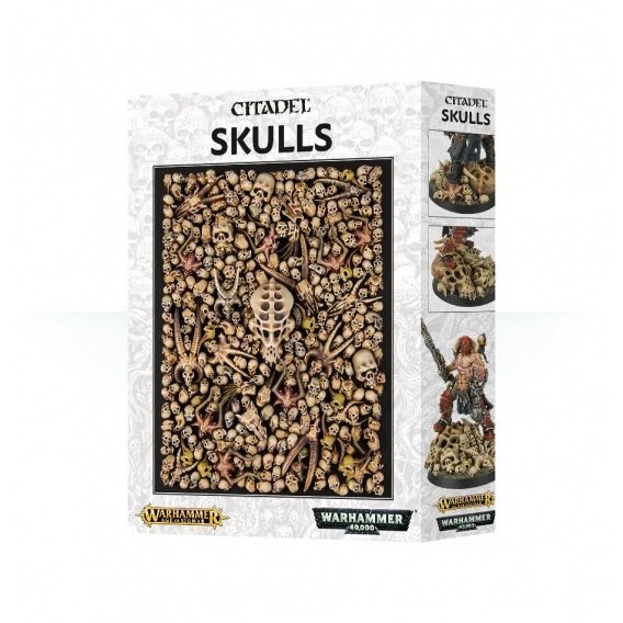 Citadel Skulls Trawa i Posypki Games Workshop