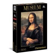 Puzzle 500 Leonardo: Mona Lisa - Museum Collection Malarstwo Clementoni