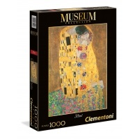 Puzzle 1000 Klimt: The Kiss - Museum Collection Malarstwo Clementoni