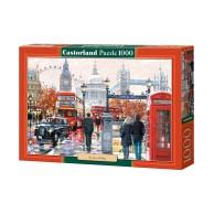 Puzzle 1000 el. LONDON COLLAGE Malarstwo Castorland