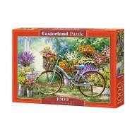 Puzzle 1000 el. Kwiatowy targ