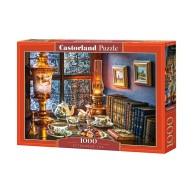Puzzle 1000 el. Popołudniowa herbatka Malarstwo Castorland