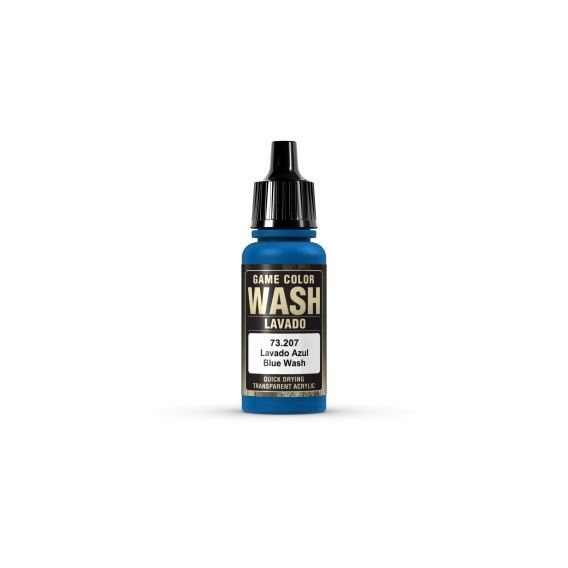 Farba Vallejo Game Color Wash 17 ml. Blue Seria Game Color Vallejo