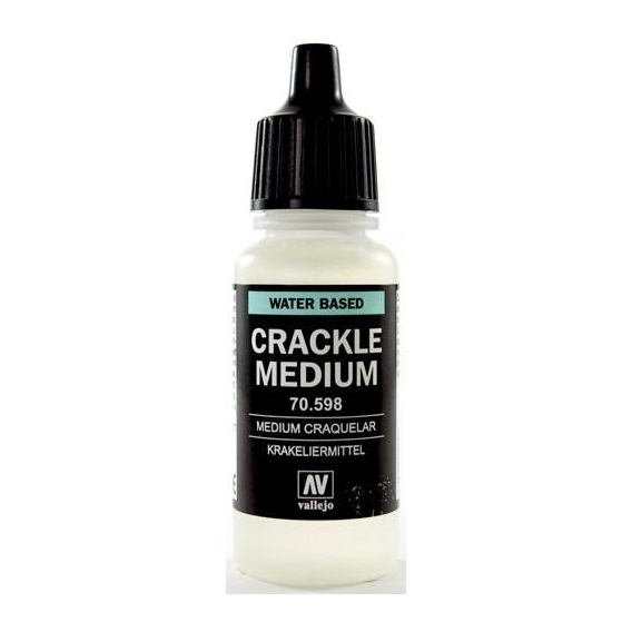 Vallejo 598-17 ml. Crackle Medium Dodatki do farb Vallejo