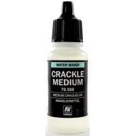 Vallejo 598-17 ml. Crackle Medium Dodatki do farb Vallejo