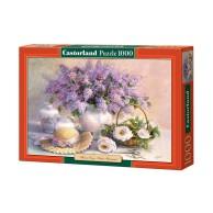 Puzzle 1000 el. Kwiaty i kapelusz Martwa Natura Castorland