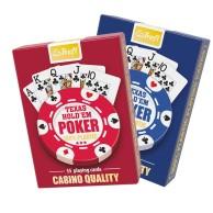 Karty Trefl - Casino Quality Poket 100% Plastic Talie Tradycyjne Trefl