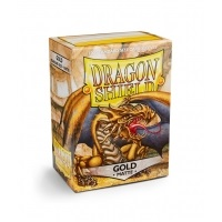 Dragon Shield Standard Sleeves - Matte Gold (100 Sleeves) Do gier karcianych Arcane Tinmen