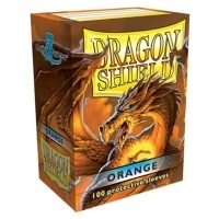 Dragon Shield Standard Sleeves - Orange (100 Sleeves)