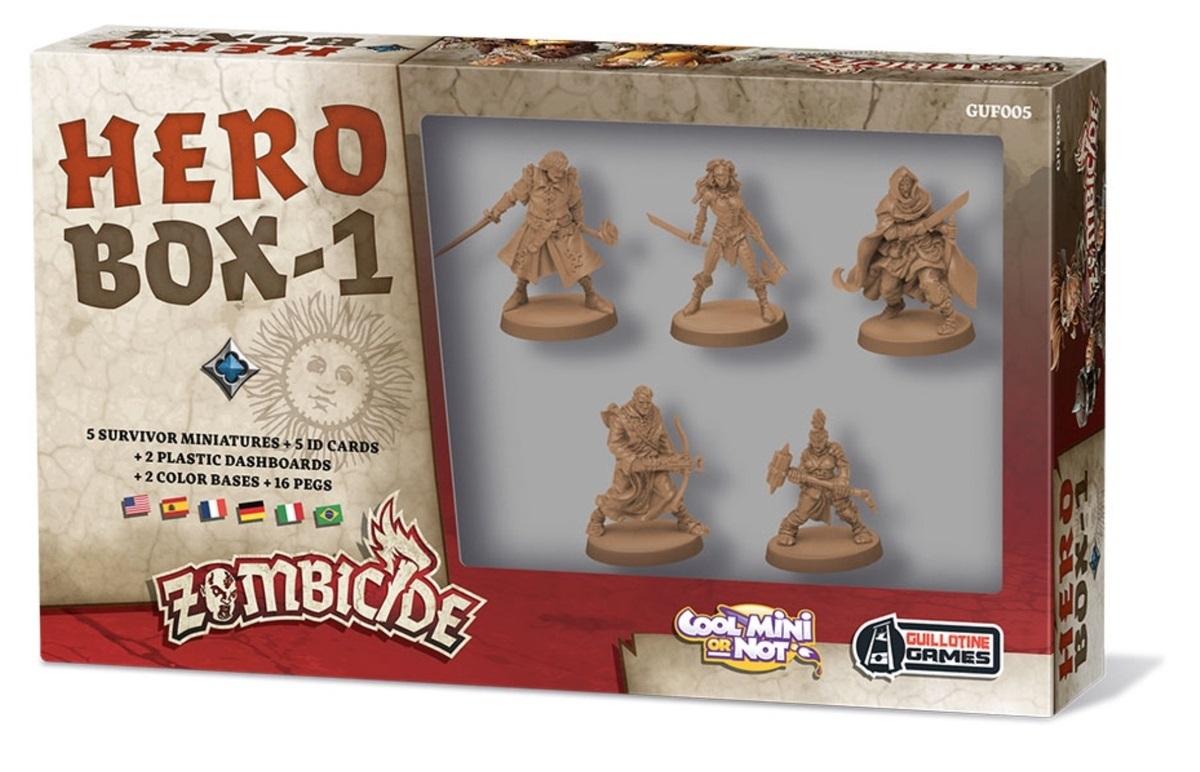 Zombicide: Czarna Plaga: Hero Box