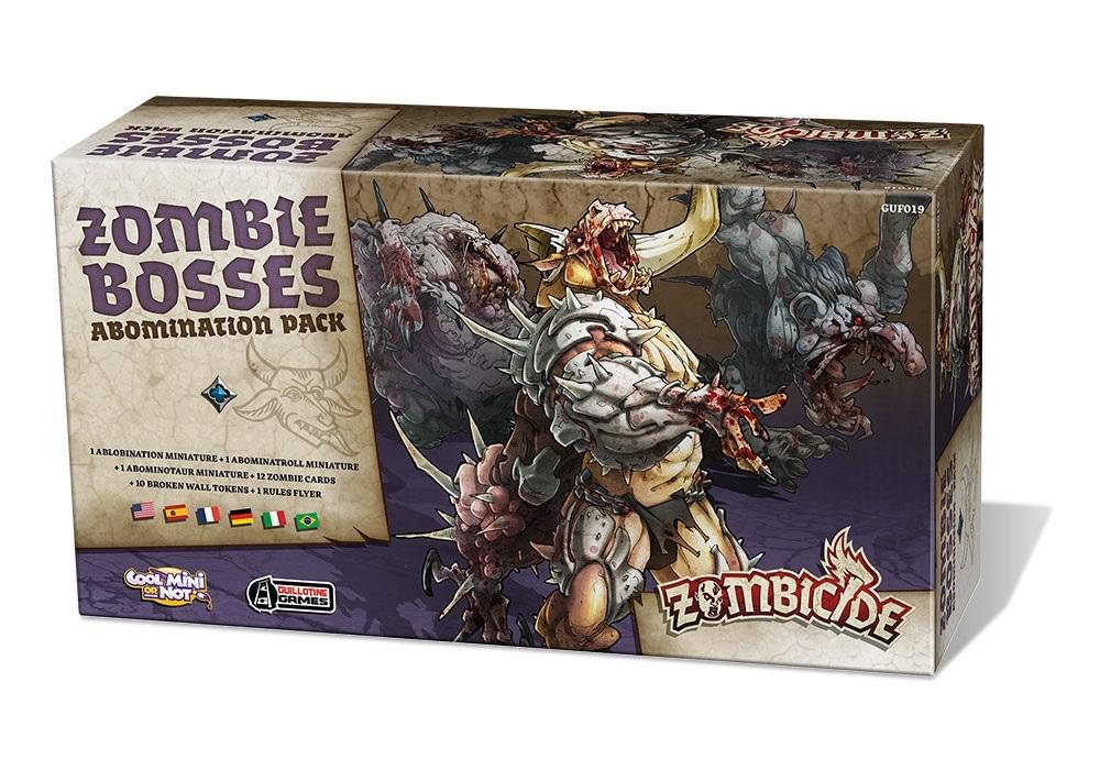 Zombicide: Czarna plaga: Zombie Bosses, Zestaw Abominacji