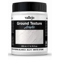 Vallejo 26211 Ground Textures 200 ml. White Stone Paste Dodatki do farb Vallejo