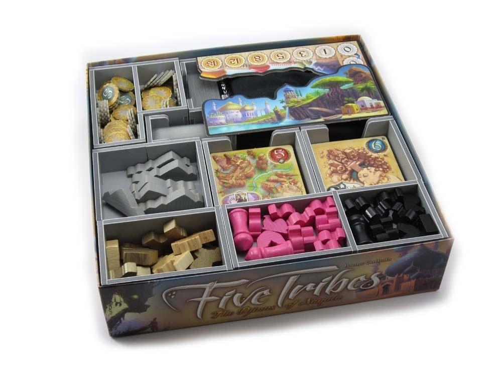 Folded Space: organizer do gry Pięć Klanów (Five Tribes)