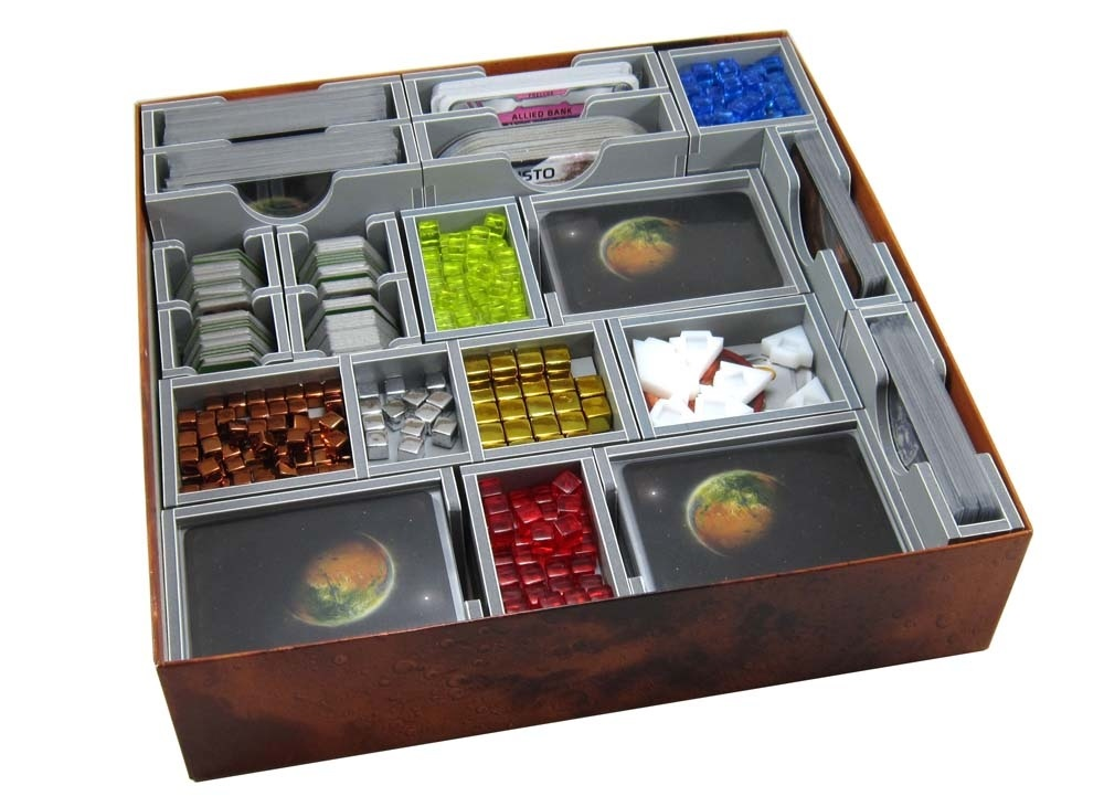 Folded Space: organizer do gry Terraformacja Marsa V2