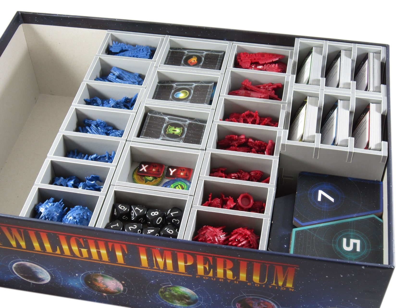 Folded Space: organizer do gry Twilight Imperium: Świt nowej ery