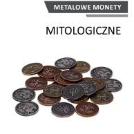 Metalowe monety - Mitologiczne (zestaw 24 monet)