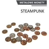 Metalowe Monety - Steampunkowe (zestaw 24 monet) Monety Rebel