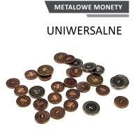 Metalowe Monety - Uniwersalne (zestaw 30 monet) Monety Rebel