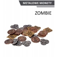 Metalowe monety - Zombie (zestaw 24 monet) Monety Rebel