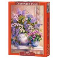 Puzzle 1500 el. Kwiaty Bzu
