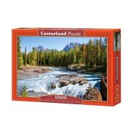 Puzzle 1500 el. Rzeka Athabaska - Kanada Pejzaże Castorland