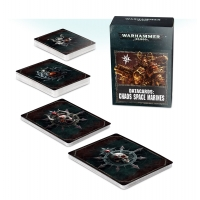 Warhammer 40000 Datacards: Chaos Space Marines Chaos Space Marines Games Workshop