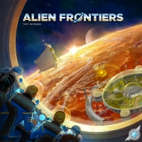 Alien Frontiers (5th Edition) Strategiczne Game Salute