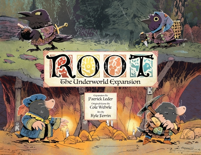 Root: The Underworld Expansion (edycja Kickstarter)