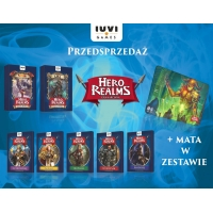 HERO REALMS: PAKIET BOHATEROWIE + BOSSOWIE + MATA