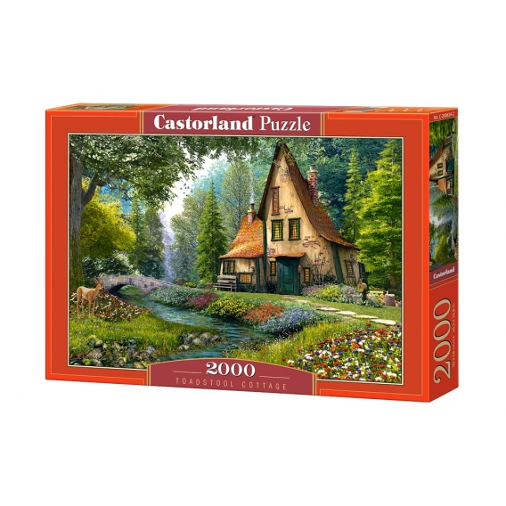 Puzzle 2000 el. Toadstool Cottage