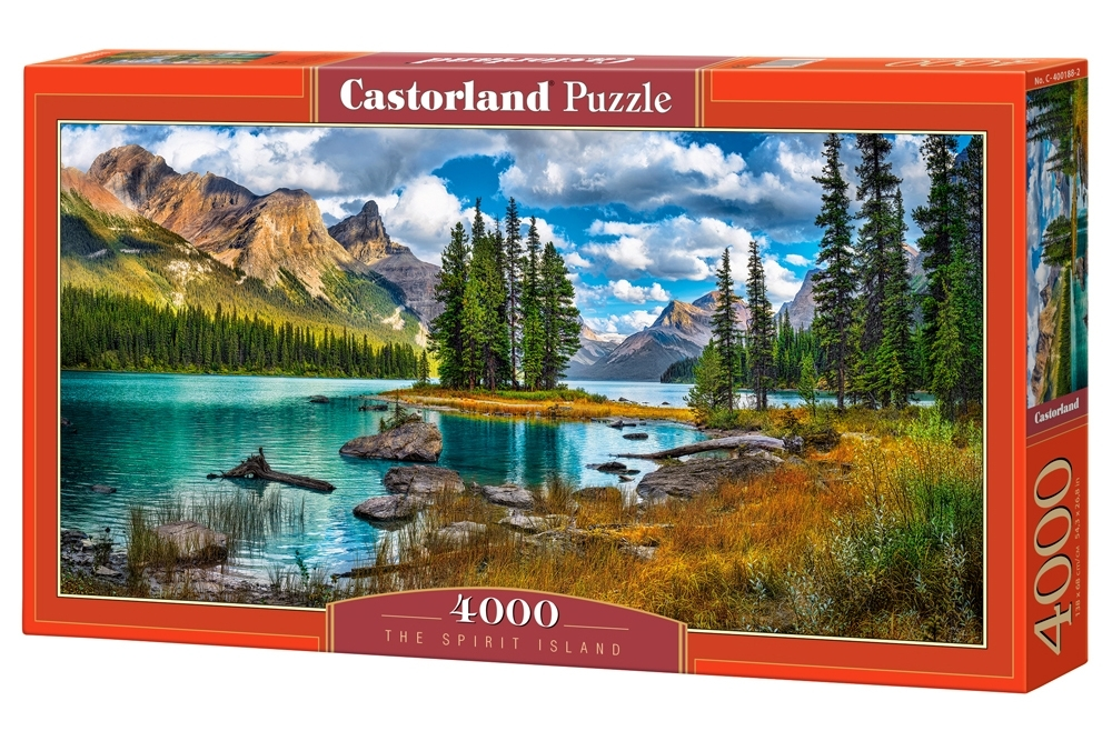 Puzzle 4000 el. The Spirit Island - Kanada
