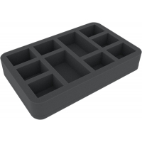 HS045WH37 45 mm Gąbek do Warhammer - 10 compartments