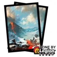Blackfire Sleeves - Standard Double-Matte - Svetlin Velinov - Mountain (50 Sleeves) by LEGION