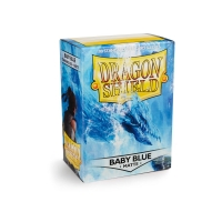 Dragon Shield Standard Sleeves - Matte Baby Blue (100 Sleeves) Do gier karcianych Arcane Tinmen