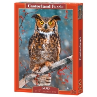 Puzzle 500 el. Great Horned Owl